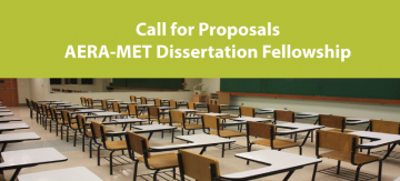 aera met dissertation fellowship