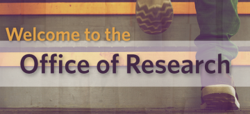 Welcome to the Office of Research!
