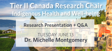 Tier II Canada Research Chair Presentation – Dr. Montgomery