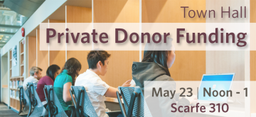 Town Hall – Private Donor Funding