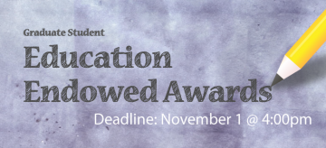 2017 Education Endowed Awards