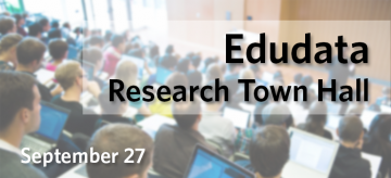 Edudata Research Town Hall