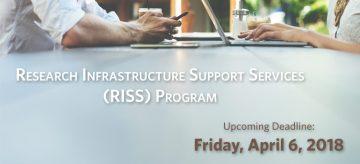 April 2018 RISS Deadline