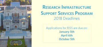 2018 RISS Deadlines