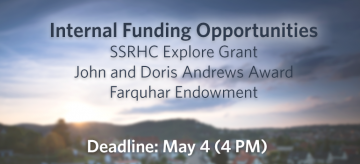 2018-2019 Faculty of Education Internal Funding Competitions
