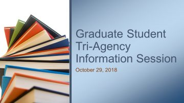 Graduate Student Tri-Agency Information Session