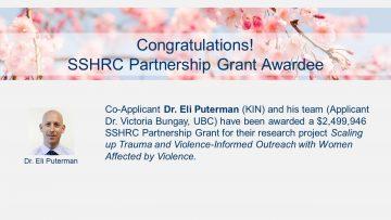 Congratulations SSHRC Partnership Grant Awardee!