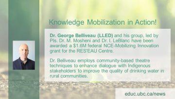 Congratulations Dr. George Belliveau!
