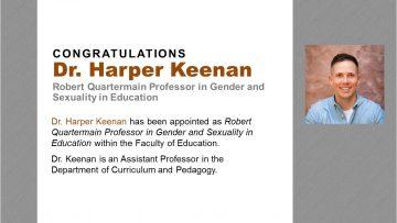 Congratulations Dr. Harper Keenan!