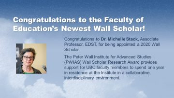 Congratulations Dr. Michelle Stack!