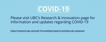COVID-19 Research & Innovation information and updates