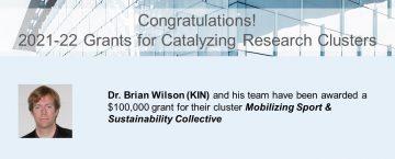 Congratulations to Dr. Brian Wilson!