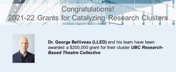 Congratulations to Dr. George Belliveau!