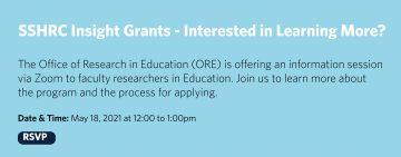 SSHRC Insight Grants Information Session